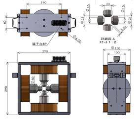 4極電磁石(1)
