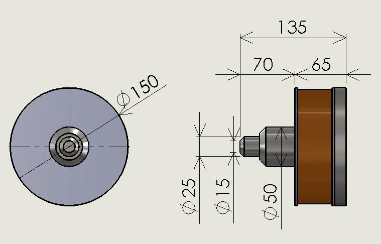 大型電磁石 磁極延長タイプ(1)