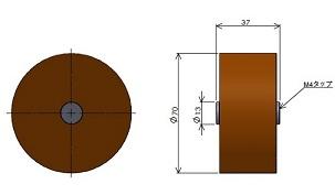 磁力発生用棒磁石 高磁力タイプ(1)