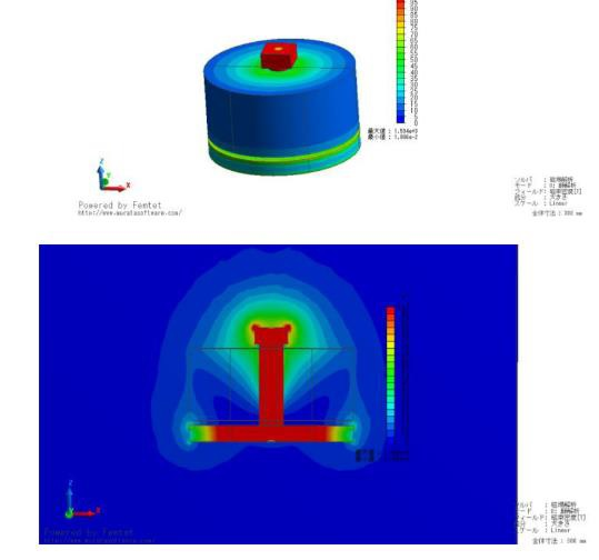 棒電磁石(先端角型)(3)
