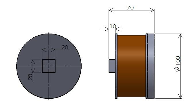 棒電磁石(先端角型)(1)
