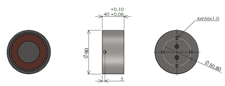 吸着用 電磁石 大Lタイプ(1)